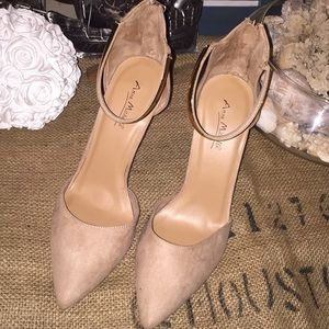 Anne Michelle Bling Ankle Heels (9)